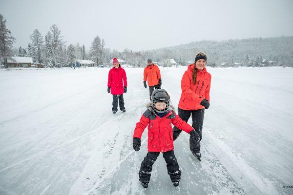 5 activités GRATUITES pour plaire à la famille pendant le temps des Fêtes dans Charlevoix