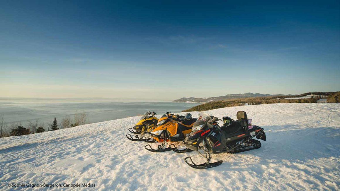 5 points de vue incontournables dans les circuits de motoneige de Charlevoix